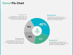 Donut Pie Chart Analysis Ppt PowerPoint Presentation Professional