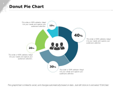 Donut Pie Chart Bar Ppt PowerPoint Presentation Infographics Slide Portrait