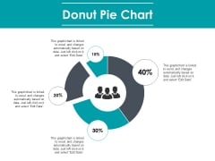 Donut Pie Chart Finance Marketing Ppt PowerPoint Presentation Layouts Ideas