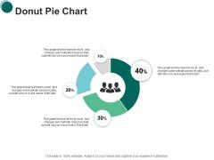 Donut Pie Chart Finance Ppt PowerPoint Presentation Infographics Slides