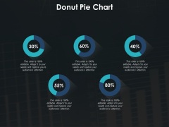 Donut Pie Chart Marketing Ppt PowerPoint Presentation Infographic Template Icon