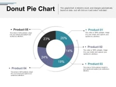 Donut Pie Chart Ppt PowerPoint Presentation File Graphics Template