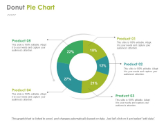Donut Pie Chart Ppt PowerPoint Presentation File Infographic Template
