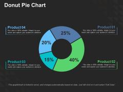 Donut Pie Chart Ppt PowerPoint Presentation Ideas Design Templates