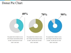 Donut Pie Chart Ppt PowerPoint Presentation Infographics Background Images