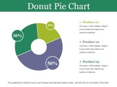 Donut Pie Chart Ppt PowerPoint Presentation Infographics Design Inspiration