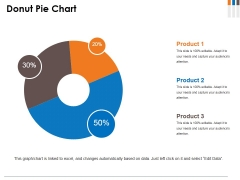 Donut Pie Chart Ppt PowerPoint Presentation Infographics Model