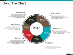 Donut Pie Chart Ppt PowerPoint Presentation Infographics Styles