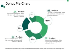 Donut Pie Chart Ppt PowerPoint Presentation Infographics Summary