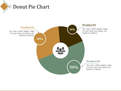 Donut Pie Chart Ppt PowerPoint Presentation Inspiration Elements