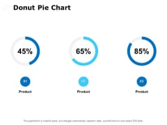 Donut Pie Chart Ppt PowerPoint Presentation Layouts Background Images