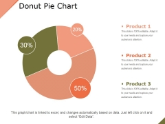 Donut Pie Chart Ppt PowerPoint Presentation Layouts Outfit