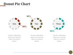 Donut Pie Chart Ppt PowerPoint Presentation Layouts Templates