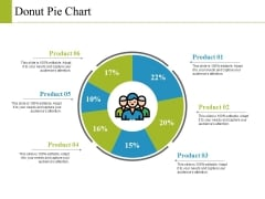 Donut Pie Chart Ppt PowerPoint Presentation Model Graphics Example