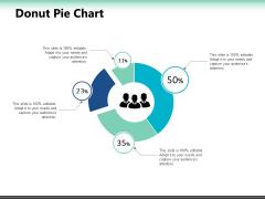 Donut Pie Chart Ppt PowerPoint Presentation Outline Deck