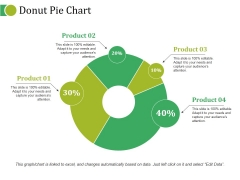 Donut Pie Chart Ppt PowerPoint Presentation Outline Layouts