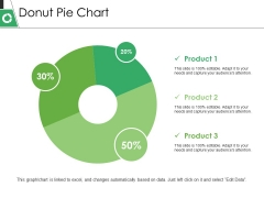 Donut Pie Chart Ppt PowerPoint Presentation Outline Visuals