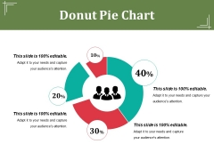 Donut Pie Chart Ppt PowerPoint Presentation Pictures Example