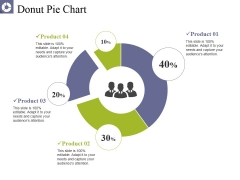 Donut Pie Chart Ppt PowerPoint Presentation Pictures Graphics