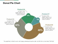 Donut Pie Chart Ppt PowerPoint Presentation Pictures Summary