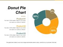 Donut Pie Chart Ppt PowerPoint Presentation Portfolio Background