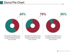Donut Pie Chart Ppt PowerPoint Presentation Portfolio Backgrounds