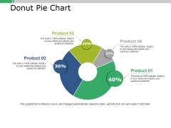 Donut Pie Chart Ppt PowerPoint Presentation Portfolio Slide Download