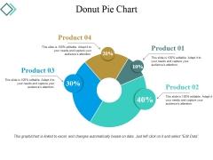 Donut Pie Chart Ppt PowerPoint Presentation Portfolio Vector