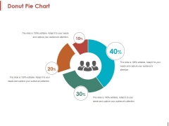 Donut Pie Chart Ppt PowerPoint Presentation Professional Example File