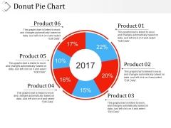 Donut Pie Chart Ppt PowerPoint Presentation Professional Slideshow