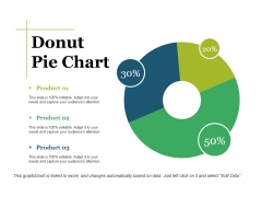 Donut Pie Chart Ppt PowerPoint Presentation Show Graphic Tips