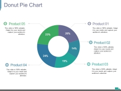 Donut Pie Chart Ppt PowerPoint Presentation Show Layouts