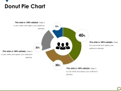 Donut Pie Chart Ppt PowerPoint Presentation Show Styles