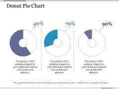 Donut Pie Chart Ppt PowerPoint Presentation Summary Example