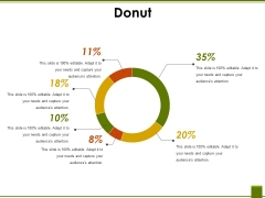 Donut Ppt PowerPoint Presentation Styles File Formats