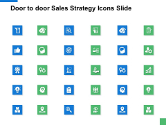 Door To Door Sales Strategy Icons Slide Growth Ppt PowerPoint Presentation Inspiration Slideshow