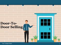Door To Door Selling Ppt PowerPoint Presentation Complete Deck With Slides