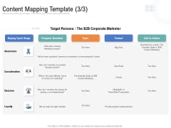 Drafting A Successful Content Plan Approach For Website Content Mapping Template Format Formats PDF