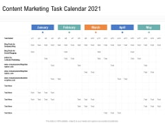 Drafting A Successful Content Plan Approach For Website Content Marketing Task Calendar 2021 Ideas PDF