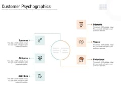 Drafting A Successful Content Plan Approach For Website Customer Psychographics Ppt Gallery Graphics Tutorials PDF