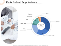 Drafting A Successful Content Plan Approach For Website Media Profile Of Target Audience Designs PDF