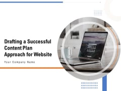 Drafting A Successful Content Plan Approach For Website Ppt PowerPoint Presentation Complete Deck With Slides