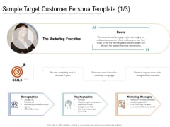 Drafting A Successful Content Plan Approach For Website Sample Target Customer Persona Template Guidelines PDF
