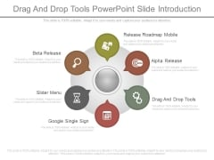 Drag And Drop Tools Powerpoint Slide Introduction