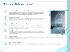 Driving Digital Transformation Through Kubernetes And Containers What Can Kubernetes Do Topics PDF