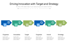 Driving Innovation With Target And Strategy Ppt PowerPoint Presentation Gallery Example Introduction PDF