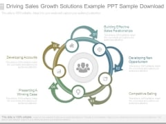 Driving Sales Growth Solutions Example Ppt Sample Download
