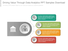 Driving Value Through Data Analytics Ppt Samples Download