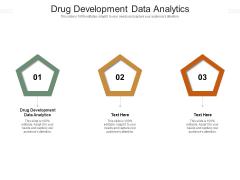 Drug Development Data Analytics Ppt PowerPoint Presentation Inspiration Example Cpb Pdf