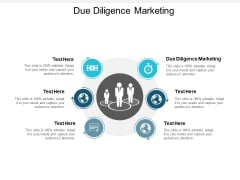 Due Diligence Marketing Ppt PowerPoint Presentation Infographic Template Mockup Cpb